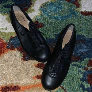 Black tap shoes!